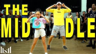 """THE MIDDLE"" - ZEDD Dance | Matt Steffanina Choreography ft Nicole"