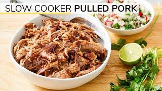 SLOW COOKER PULLED PORK RECIPE | Healthy, Head-start Ingredient