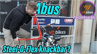 Das Abus Steel-O-Flex 7200 - Ist es knackbar? - vit:bikesTV Panzerknacker