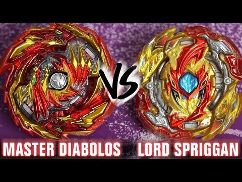 DUAL-SPIN SHOWDOWN! | Master Diabolos .Gn VS Lord Spriggan .Bl.Dm' | Beyblade Burst GT/Rise