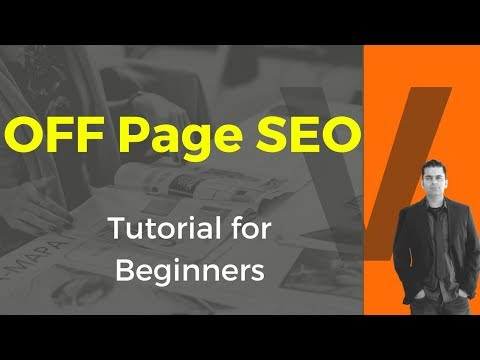OFF Page SEO: Beginners Tutorial & Guide for You [New Checklist]