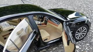 Крутая тачка BMW 7ка /// Как сделать номер на масштабную модель