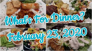 What's For Dinner?  Feb 23, 2020   Easy Weeknight Meals   Cooking for Two