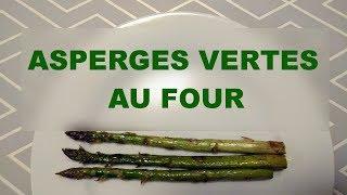 Asperges vertes au four