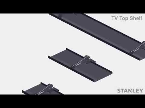 Full Video of Stanley TV Top Shelf System