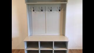 Entry Bench & Shelf Walkthrough | NelsoncraftTX