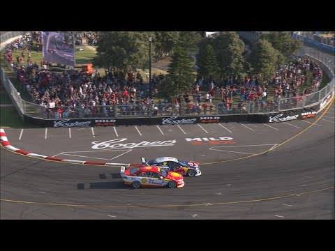 Van Gisbergen takes the win on the final lap