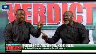 [FULL VIDEO] Melaye, Keyamo In Heated Debate Over Buhari