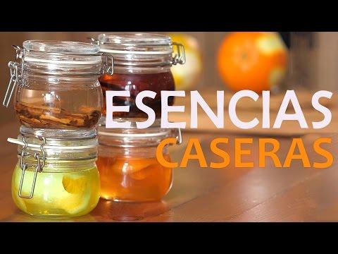 Cómo hacer 4 ESENCIAS CASERAS para tus postres | Vainilla, canela, limón y naranja