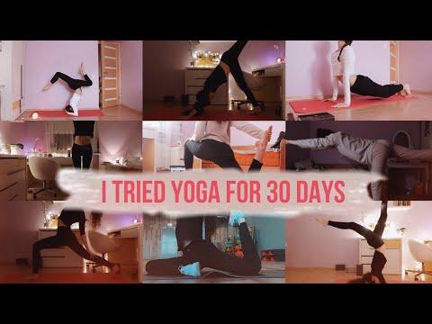 30 дней йоги | результаты | изменения | лень #yogachallenge