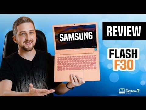 "Review Notebook Samsung Flash F30 | Análise Completa básico e barato tela 13"" Full HD"