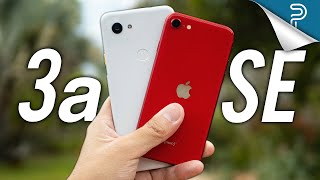 Apple iPhone SE (2020) vs Google Pixel 3a: Tough one!