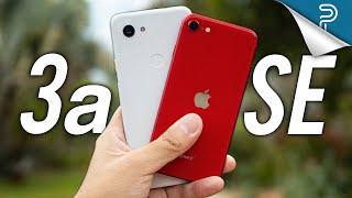 Apple iPhone SE (2020) vs Google Pixel 3a: Tough one!