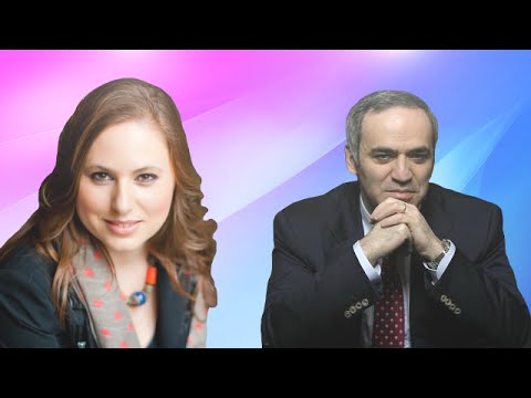 Judit Polgár vs Garry Kasparov - Russia vs Rest of the World - 2002