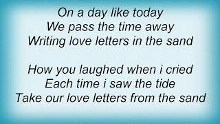 Andy Williams - Love Letters In The Sand Lyrics