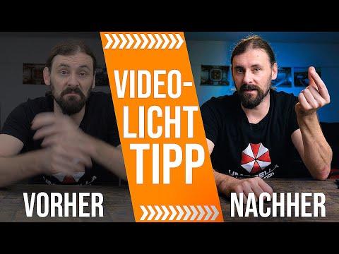 4 TIPPS für COOLES VIDEO-LICHT