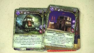 Mage Wars:  Forcemaster vs.  Warlord Expansion - with Tom Vasel