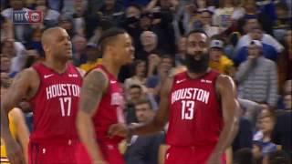 James Harden EPIC Game-Winning Shot | Rockets vs Warriors - January 3, 2019