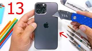 Apple iPhone 13 Pro Max Durability Test - A few things Apple hasn't told you