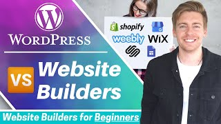 BEST Website Builder for Beginners | Wordpress Vs Website Builders