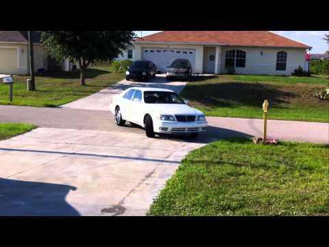 """Infiniti Q45 on 22"""" starr wheels HD"""