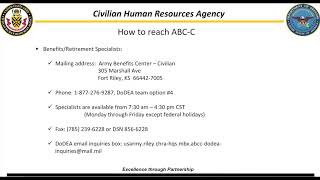 Army Benefits Center Civilian Work Transfer