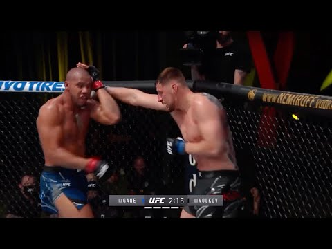 UFC Vegas 30: Gane vs. Volkov – highlights