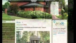 preview picture of video 'Friedhof Brinkum, Niedersachsen, germany'