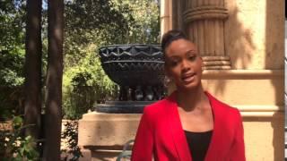 Kim Wentzel Miss South Africa 2015 finalist at pre judging
