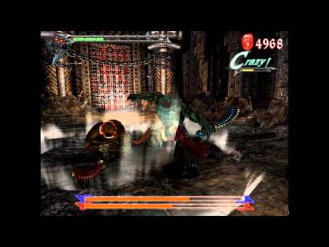 Devil May Cry 3 Gameplay - Dante Vs Agni & Rudra