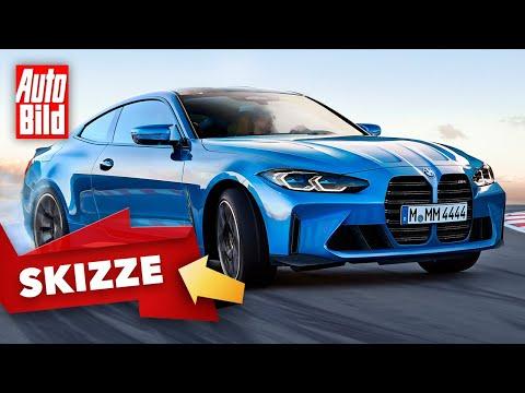 BMW M4 Coupé (2021): Skizze - Sportwagen - Motor - PS - Info