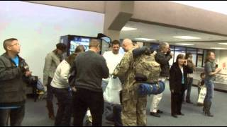 Troops At DFW Mar 10 2012