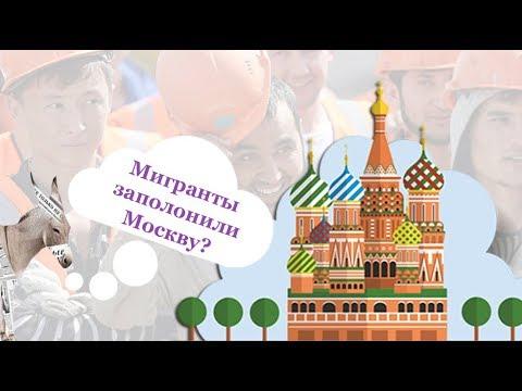 Мигранты заполонили Москву?   Уши машут ослом (54)