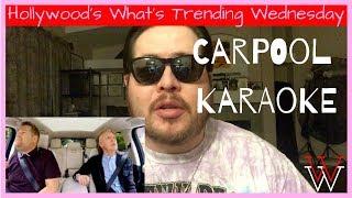 """What's Trending Wednesday: """"car karaoke"""""""