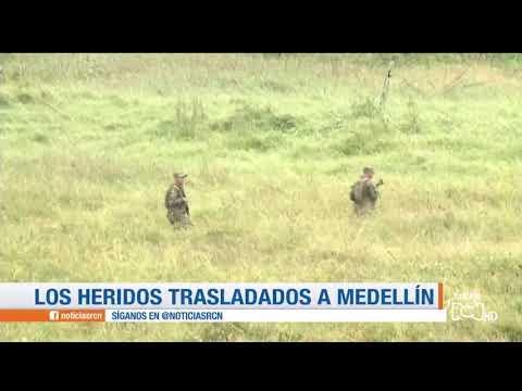 Cinco militares resultaron heridos por mina antipersonal en Taraza, Antioquia