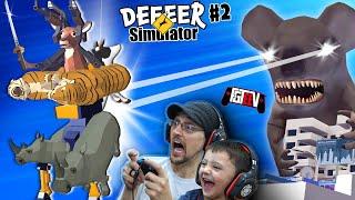 Deeer Simulator 2!! The GIANT Koala Strikes!  (FGTeeeeeeeeeeV Wipes the Map)