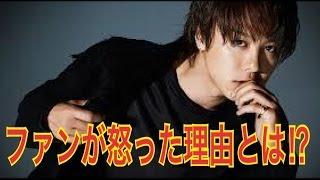 激怒TAKAHIROがテニミュファンを怒らした発言とは!?
