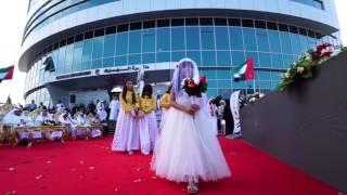 أحمد بن صقر القاسمي يشهد احتفالات دائرة الجمارك والمالية والحكومة الالكترونية باليوم الوطني 45
