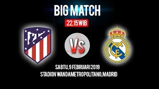 Live Streaming Atletico Madrid Vs Real Madrid di HP via MAXStream beIN Sport, Sabtu Pukul 22.15 WIB