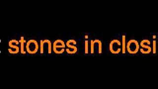 12 stones in closing