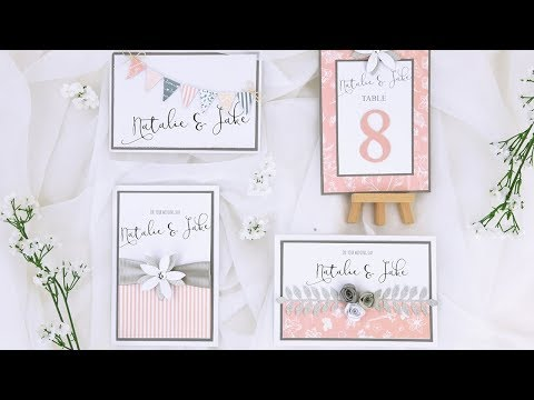 Wedding Invite - Sizzix