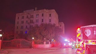 Officials Investigating Fire At Luxury Hotel Landmark In Dallas