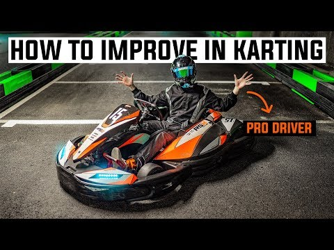 Pro Driver Tips on How To Get Faster Go-Karting