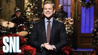 Matt Damon Monologue - SNL