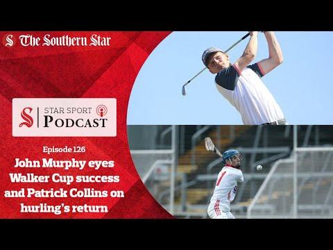 Kinsale golfer John Murphy eyes Walker Cup success and Cork's Patrick Collins on hurling's return