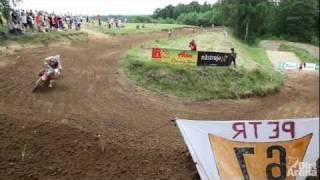 preview picture of video 'mx2 - Międzynarodowe Mistrzostwa Czeskiej Republiki - MMCR 2011 petrovice relacja'