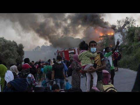 Moria: Scheinpolitik der Verweigerung um noch mehr Flüchtlinge nach Deutschland zu holen