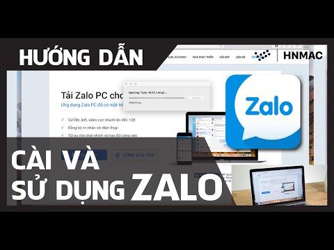 [ HƯỚNG DẪN ] Cài và sử dụng Zalo cho MacBook