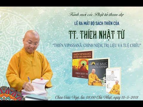 Lễ ra mắt bộ sách Thiền của TT. Thích Nhật Từ