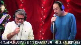 "Froggy & Uncle Johnny Sing - ""Mele Kalikimaka"" 